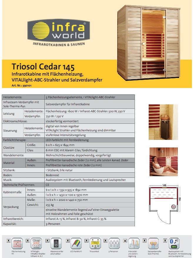 Triosol-Cedar-145