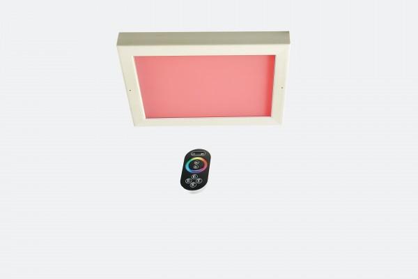 "LED-Farblicht ""Sion 4A"" Dekenmontage ( Holzart ) Erle"