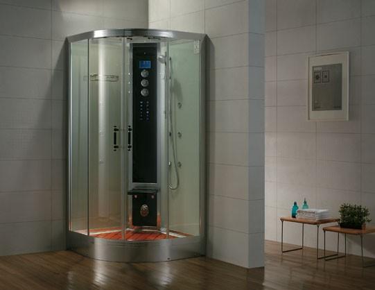 Dampfdusche Aqualine WS102S8 weiss