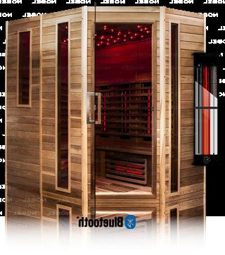 Infrarotkabine ATH210 R Zedernholz