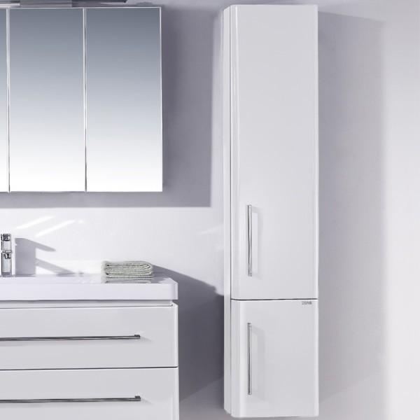 EAGO Badmöbel Schrank X1580B weiß/33x158/rechts
