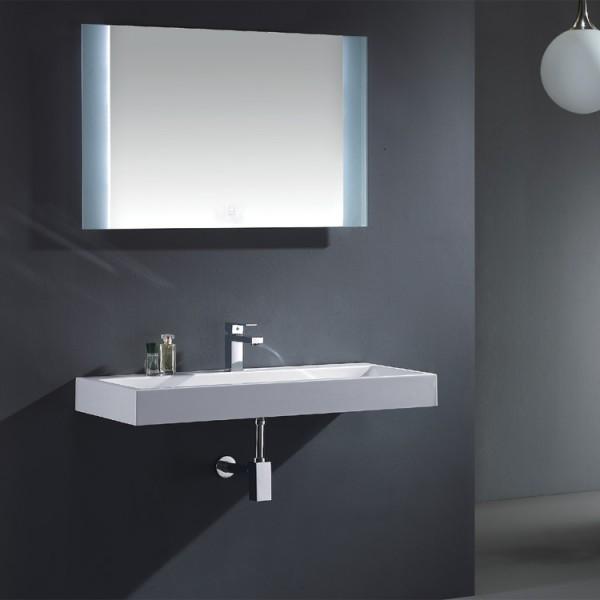EAGO Badmöbel Siena SI - 0901 weiß/90 cm