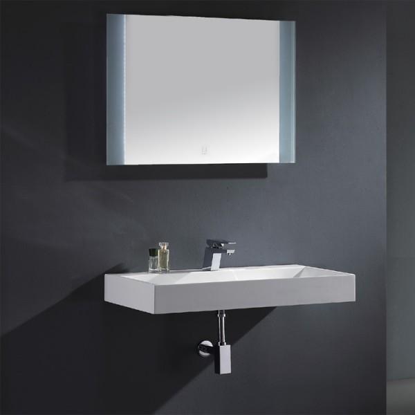 EAGO Badmöbel Siena SI - 1000 weiß/100 cm