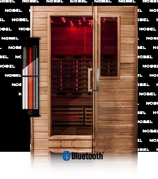 Infrarotkabine ATH150-Zedernholz