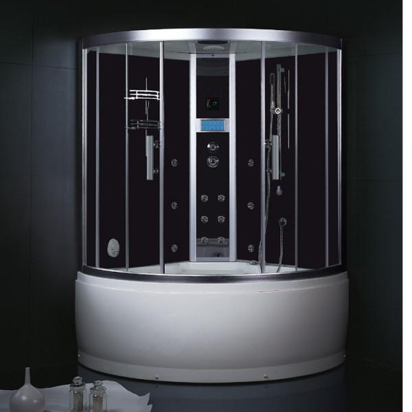 dampfdusche da325hf3 schwarz dampfduschen au enwhirlpools gut und g nstig online kaufen. Black Bedroom Furniture Sets. Home Design Ideas