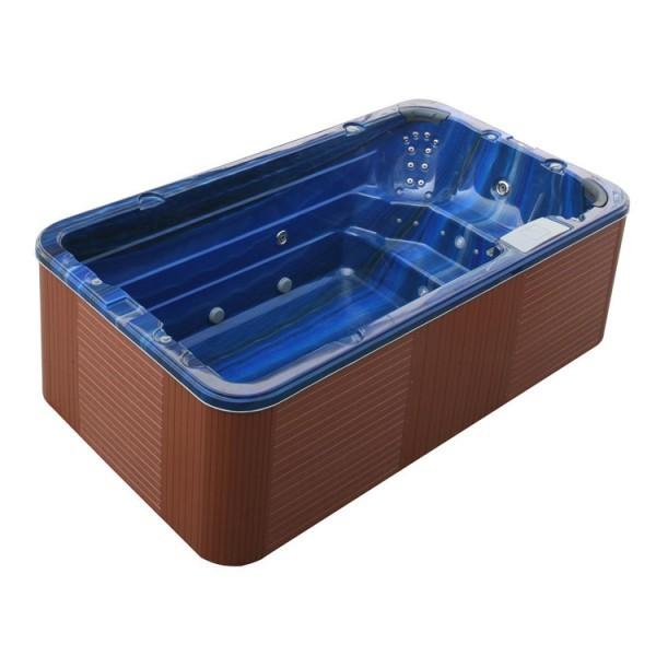 EOSPA Aussenwhirlpool SWIM SPA Innovation 4.0 SummerSaphire/400x230/braun