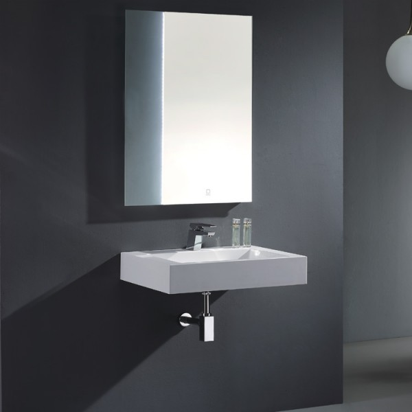 EAGO Badmöbel Siena SI - 0700 weiß/70 cm