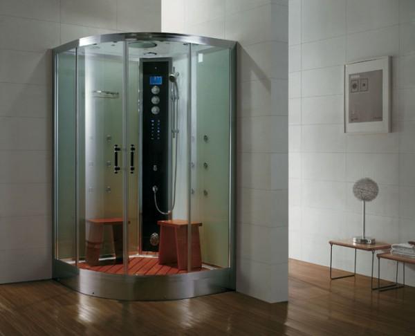 Dampfdusche Aqualine WS105S8 silber