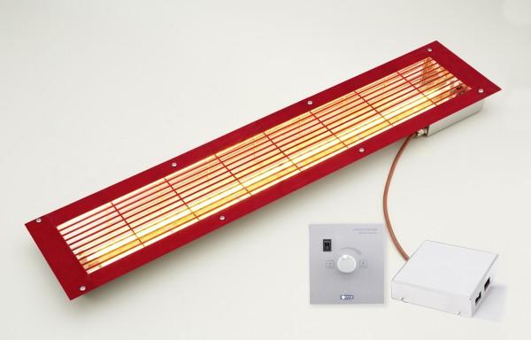 """VITALlight IPX4 """"-ABC-Strahler-Set """" Easy Control"""" ( 500 Watt )"""" rotes Abdeckgitter"""