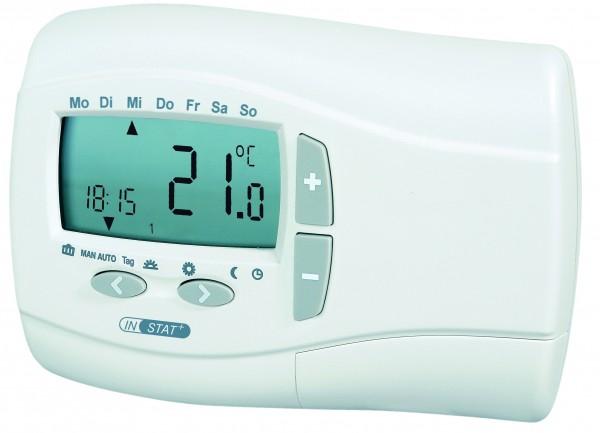 Funksender als Uhrenthermostat