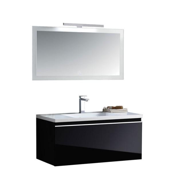 Badmöbel Milano ME-1000 schwarz
