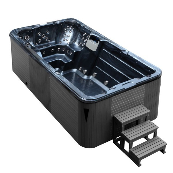 EOSPA Aussenwhirlpool SWIM SPA Innovation 4.5 PearlShadow/450x230/grau