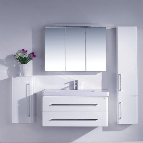 EAGO Badmöbel Miami MX-1000 weiß/100x48