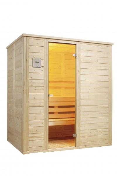 Sauna Vitalis 184 Holzart ( Fichte )