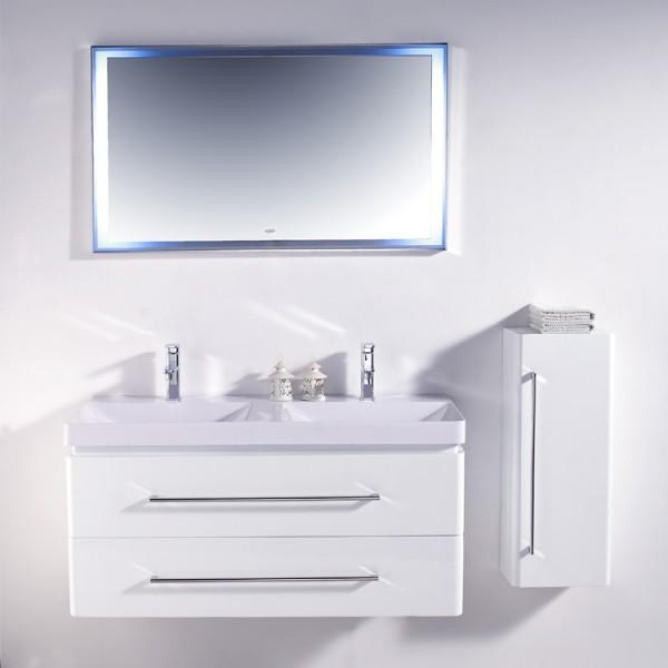 EAGO Badmöbel Miami MX-1200 weiß/120x48