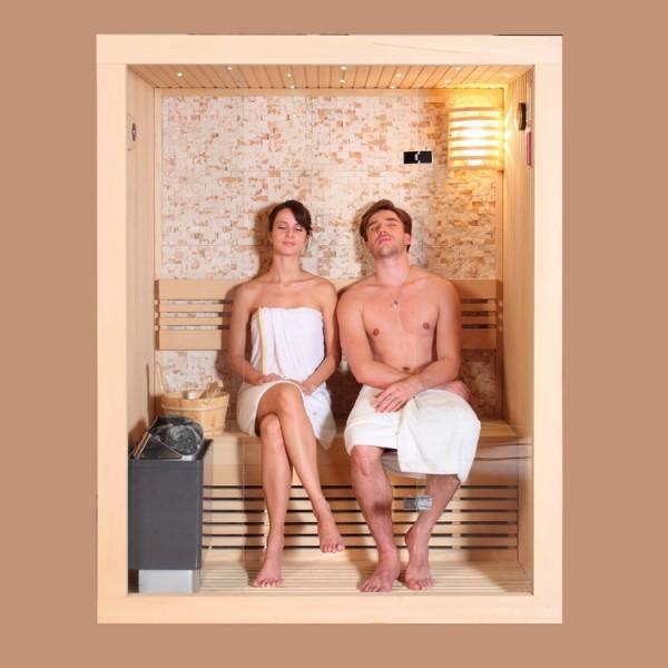 EOSPA Sauna E1103C Pappelholz/120x105/Cilindro