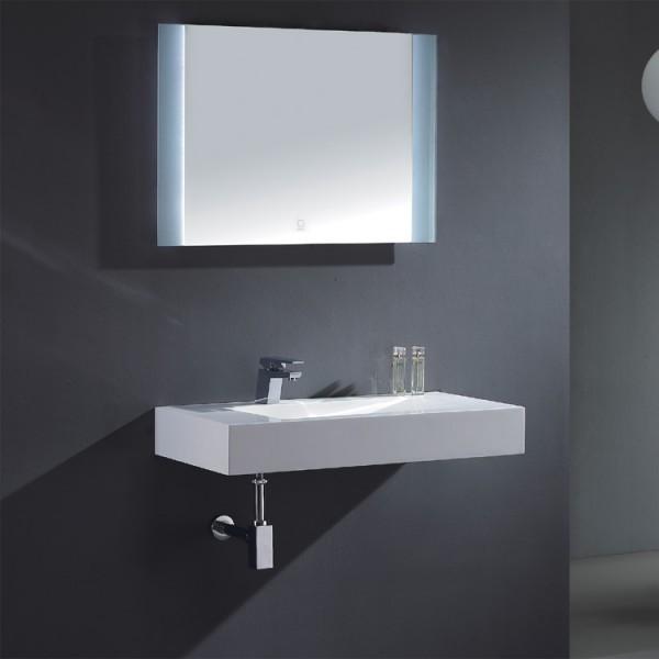 EAGO Badmöbel Siena SI - 0900 weiß/90 cm