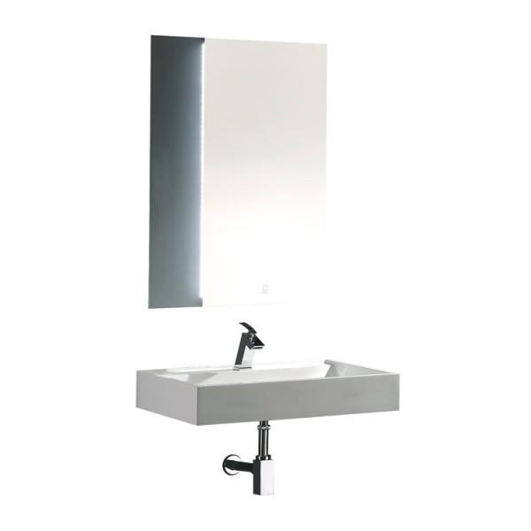 EAGO Badmöbel Siena SI-0750 weiß 75cm breit