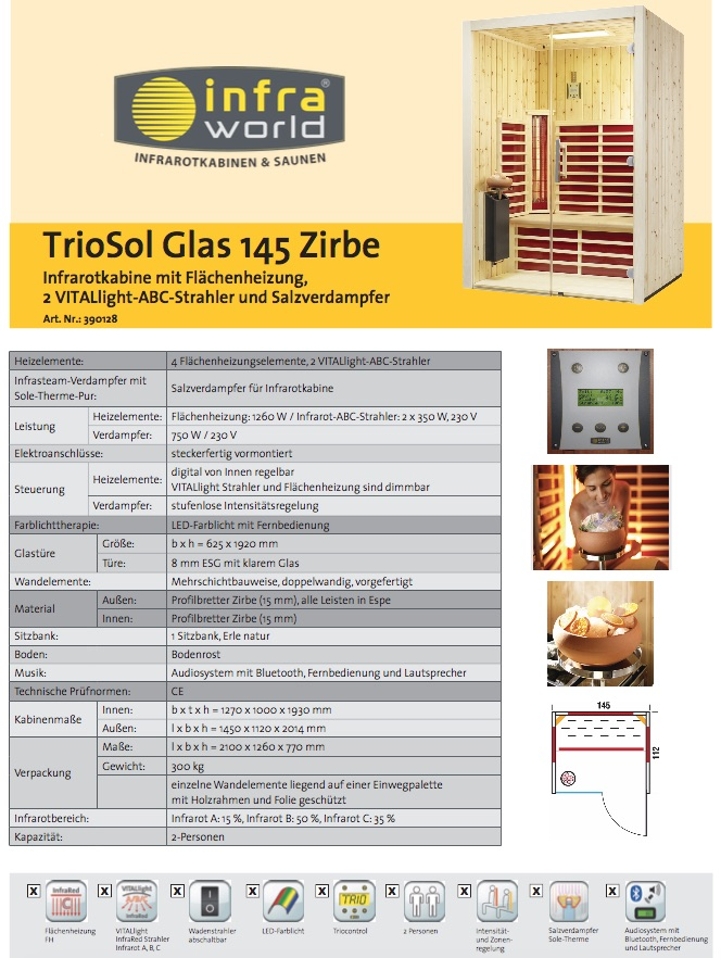 Tiosol-Glas-145-Zirbe