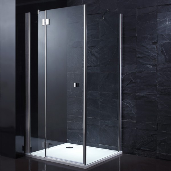 EAGO Dusche LLA900-30 Eckversion 90x90/links