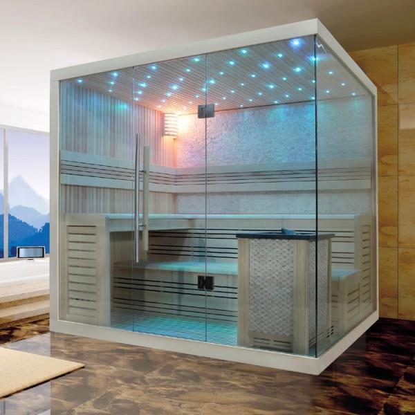 EOSPA Sauna B1105A Pappelholz/220x180/9kW EOS BiO-MAX