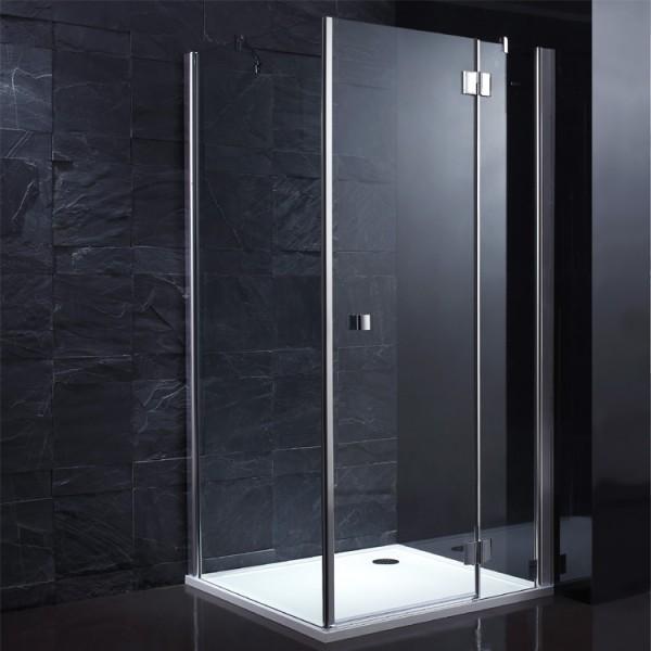 dusche lla900 30 eckversion 90x90 rechts dampfduschen au enwhirlpools gut und g nstig online. Black Bedroom Furniture Sets. Home Design Ideas