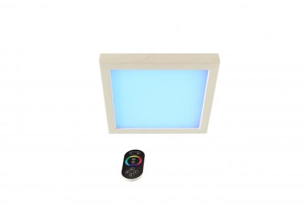 "LED-Farblicht ""Sion 2B"" ( Holzart ) Espe oder Erle"