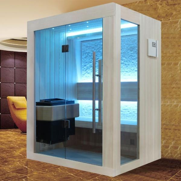 EOSPA Sauna B1252B helle Pinie/120x110/3kW EOS BiO-Mini