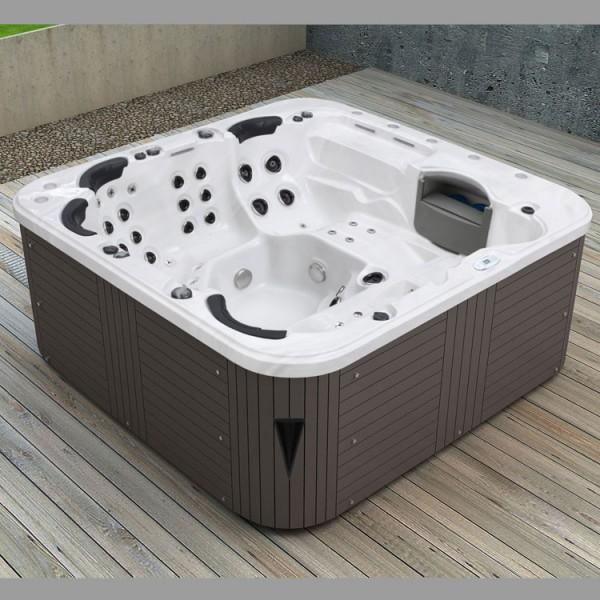 aussenwhirlpool firenze classic sterling silver grau dampfduschen au enwhirlpools gut und. Black Bedroom Furniture Sets. Home Design Ideas