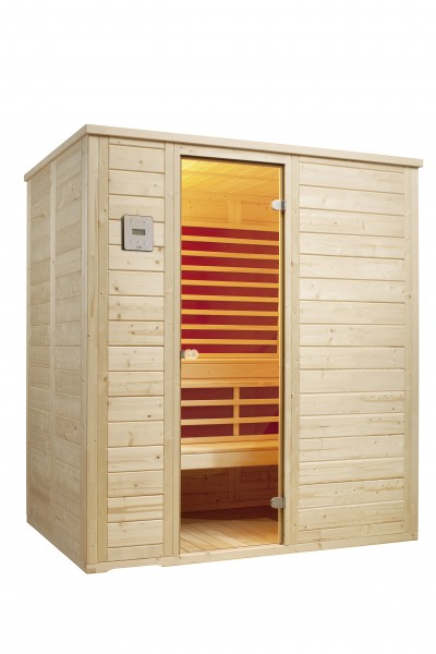 Sauna Vitalis 184 FH Holzart ( Fichte )