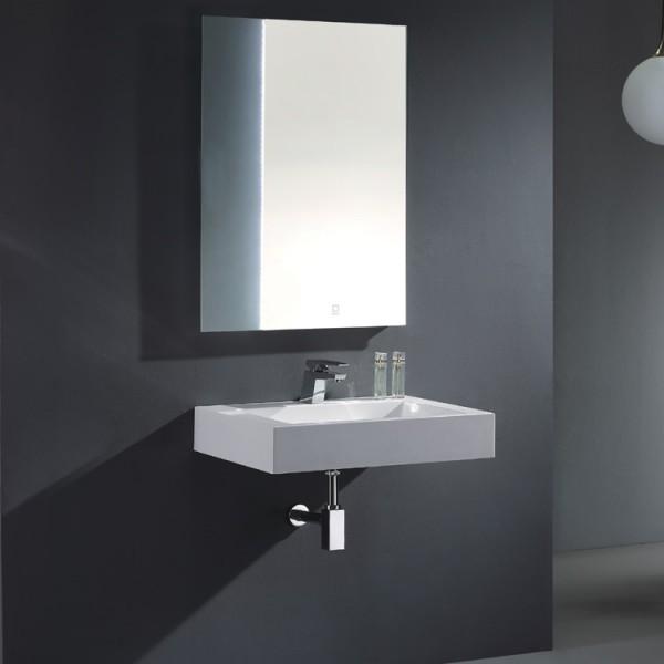 EAGO Badmöbel Siena SI - 0750 weiß/75 cm breit